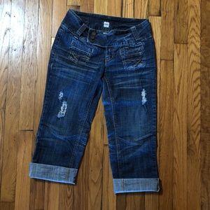 h2j Jeans - H2J   Distressed Jean Capris